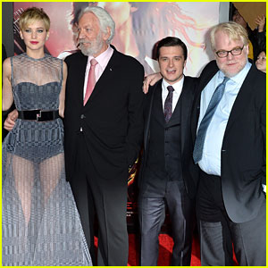 Jennifer Lawrence on Philip Seymour Hoffman's Death: 'Our Hearts Are Breaking'
