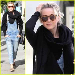 Julianne Hough: Overalls For Sunday Brunch