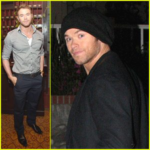 Kellan Lutz Celebrates Young Hollywood with 'Vanity Fair' & Fiat