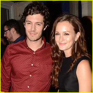 Leighton Meester & Adam Brody Got Married in Secret Wedding