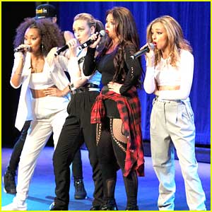 Fifth Harmony Congratulates Little Mix on 'Salute' Release
