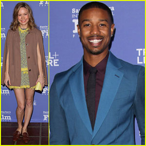 Michael B. Jordan & Brie Larson: SBIFF Virtuosos Award 2014 Recipients