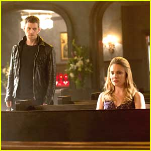 Joseph Morgan & Leah Pipes Go To Church on 'The Originals'