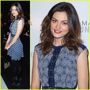 Phoebe Tonkin Hits Up BCBGMaxazria Fashion Show, Joins 'Take Down'