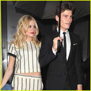 Pixie Lott & Oliver Cheshire: Valentine's Day Date at Nobu London
