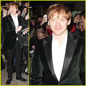 Rupert Grint Wins Newcomer of the Year at WhatsOnStage Awards 2014!