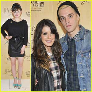 Shenae Grimes & Joey King Attend Lily Aldridge's Velvet Launch Party