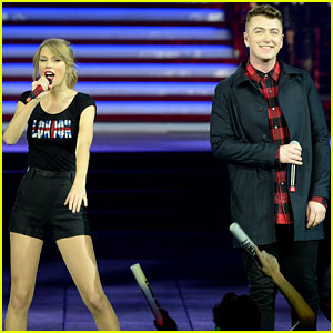 Taylor Swift Sings 'Money On My Mind' with Sam Smith - Watch Now!