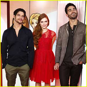 Tyler Posey & Holland Roden: 'Teen Wolf' Promo on 'Today Show'