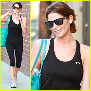 Ashley Greene Says Goodbye To Friend After Wednesday Workout