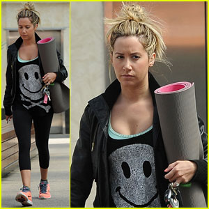 Ashley Tisdale: My Hair Reminds Me of 'Tangled'!