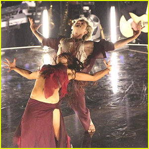 Charlie White & Sharna Burgess Score Big on 'DWTS' Week #1!