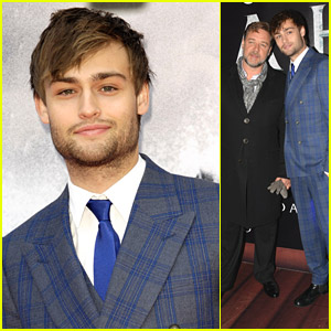 Douglas Booth Takes 'Noah' To Dublin & Edinburgh