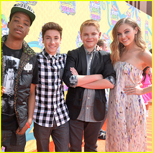 Ella Wahlestedt & Teo Halm Take 'Earth To Echo' To Kids' Choice Awards 2014