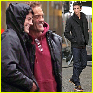 Grant Gustin on 'Cloud 9' While Filming 'The Flash' Pilot in Vancouver
