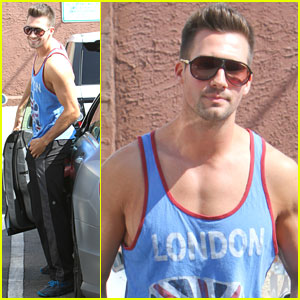 James Maslow Hits 'Dancing with the Stars' Rehearsal After Recording Session
