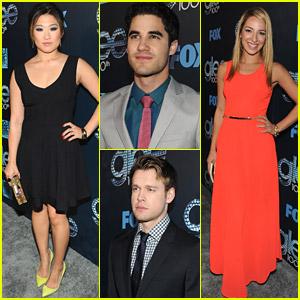 Jenna Ushkowitz & Darren Criss: 'Glee' 100th Celebration!