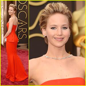 Jennifer Lawrence 2014 Oscar Dress
