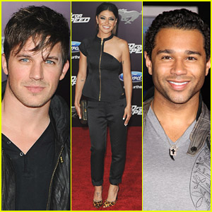 Jessica Szohr & Corbin Bleu Have the 'Need For Speed'