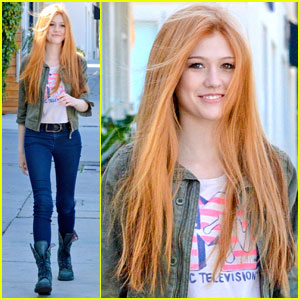 Katherine McNamara Woke Up to Her First California Earthquake!