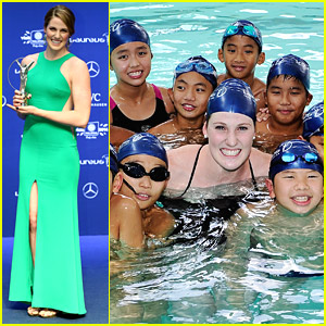 Missy Franklin Wins Laureus Sportswoman Of The Year - Youngest Ever!