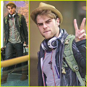 Nathaniel Buzolic: Vancouver Arrival for 'Supernatural: Tribes'