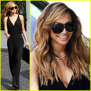 Naya Rivera: Sassy in Vintage Jumpsuit