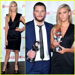 Nicola Peltz & Jack Reynor: 'Transformers 4' Stars Win Big at CinemaCon!