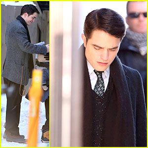 Robert Pattinson Grins on 'Life' with Snowy Scenes!