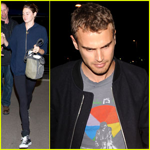 Shailene Woodley Talks 'Crazy Chemistry' with 'Divergent' Co-Star Theo James