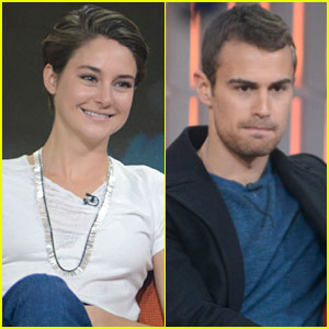 Shailene Woodley & Theo James Stop by 'The Today Show' with Ellie Goulding