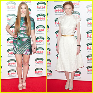 Sophie Turner & Eleanor Tomlinson: Jameson Empire Awards 2014