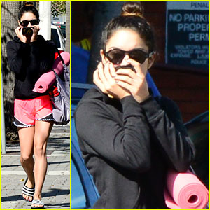Vanessa Hudgens Ends the Week with Another Yoga Class