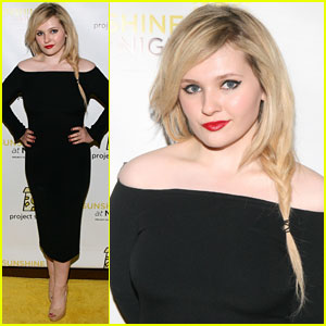 Abigail Breslin is a Blonde Bombshell at Project Sunshine Benefit