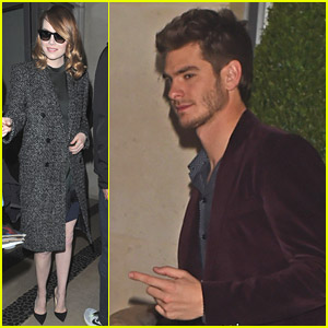 Emma Stone & Andrew Garfield: All Smiles After Alan Carr Appearance