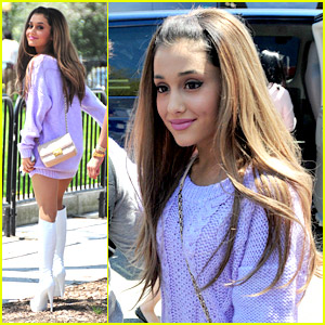 Ariana Grande Teases 'Problem'; Meets Jim Carrey At White House Easter Egg Roll