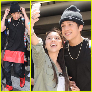 Austin Mahone Arrives in L.A. Ahead of RDMAs!