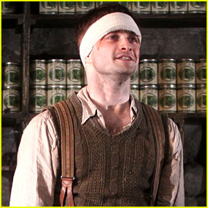 Daniel Radcliffe: 'Cripple Of Inishmaan' Opening Night Curtain Call - See the Pics!