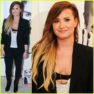 Demi Lovato Greeted By Fans Ahead of 'Neon Lights' Concerts in Brazil