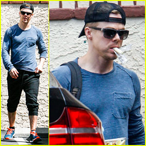 Derek Hough Talks Defying the Odds with 'DWTS' Partner Amy Purdy