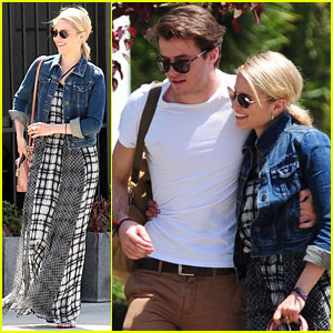 Dianna Agron Cozies Up to New Rumored Boyfriend Thomas Cocquerel!