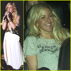 Ellie Goulding: Chateau Marmont Evening After MTV Movie Awards 2014 Performance