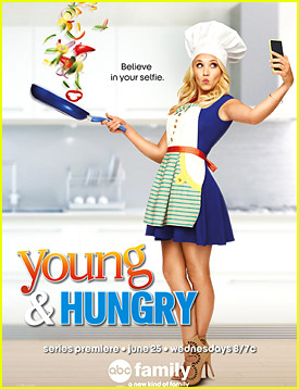 Emily Osment: 'Young & Hungry' Gets Flip-Tastic New Poster!
