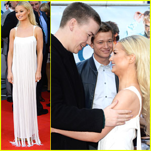 Emma Rigby is Fringe-y Fabulous for 'Plastic' Premiere with Will Poulter
