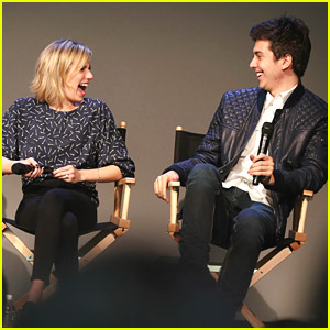 Nat Wolff Makes Emma Roberts Laugh Lots at The Apple Store