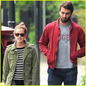 Emma Watson Shows Boyfriend Matthew Janney Around Town