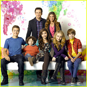 Rowan Blanchard & Sabrina Carpenter: 'Girl Meets World' Cast Photo - See It Here!