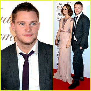 Jack Reynor: IFTA Awards with Fiancee Madeline Mulqueen!