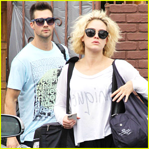 James Maslow & Peta Murgatroyd Wrap Samba Practice for 'DWTS'