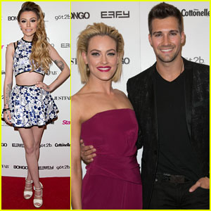 James Maslow & Peta Murgatroyd Attend Cher Lloyd's 'Hollywood Rocks' Performance